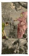 Sir Francis Drake, English Explorer Beach Towel