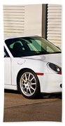 911 Porsche 996 6 Beach Towel