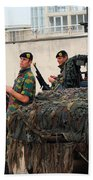 A Belgian Recce Or Scout Team Beach Towel by Luc De Jaeger