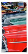 A Blast Of Color - Auto Row 7708 Beach Towel