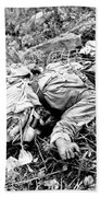 A Chinese Soldier Killed Beach Towel