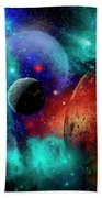 A Colorful Part Of Our Galaxy Beach Towel