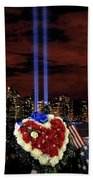 A Day Of Remembrance Nine Eleven Beach Towel