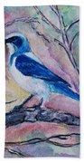 A Fine Feathered Friend Beach Towel