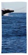 A Huge Splash Beach Towel