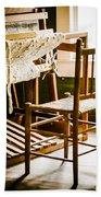 A Loom For Grandma Beach Towel