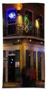 A Night In The French Quarter Beach Towel