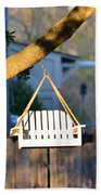 A Place To Perch Beach Towel by Nikki Marie Smith