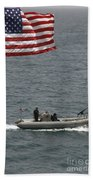 A Rigid Hull Inflatable Boat Beach Towel