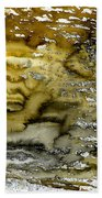 A Sea Of Raw Sienna Beach Towel