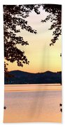 A Soothing Sunset Beach Towel