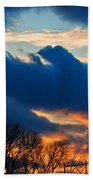 A Spring Sunset Beach Towel