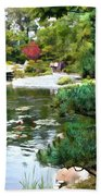 A Stroll In Peace And Tranquility Beach Towel