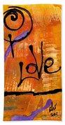 A Whirlwind Called Love Beach Towel