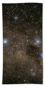 Ab Centauri Stars In The Southern Cross Beach Towel