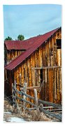 Abandoned Barn Ll Beach Towel