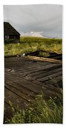 Abandoned Farm House Beach Towel