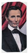 Abraham Lincoln, Republican Candidate Beach Towel by Photo Researchers