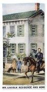 Abraham Lincolns Home Beach Towel