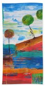 Abs 0455 Beach Towel
