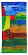 Abs 0456 Beach Towel