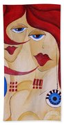 Abs 0458 Beach Towel