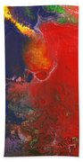 Abstract - Crayon - Andromeda Beach Towel