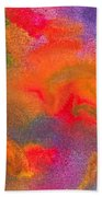 Abstract - Crayon - Melody Beach Towel by Mike Savad