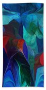Abstract 021612 Beach Towel
