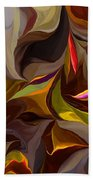 Abstract 022212 Beach Towel