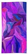 Abstract 022512 A Beach Towel