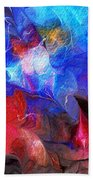 Abstract 032812a Beach Towel