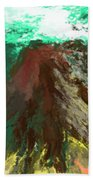abstract 082511A Beach Towel