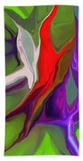 Abstract 101511 Beach Towel