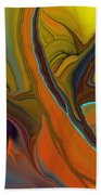 Abstract 110311 Beach Towel