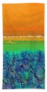 Abstract 133 Beach Towel