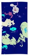 Abstract 179 Beach Towel