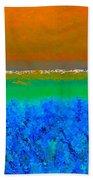 Abstract 204 Beach Towel