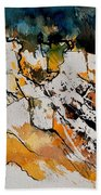 Abstract 210152 Beach Towel