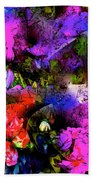 Abstract 252 Beach Towel