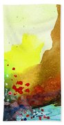 Abstract 5 Beach Towel by Anil Nene