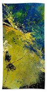 Abstract 66217090 Beach Towel