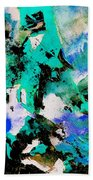 Abstract 690506 Beach Towel