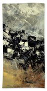 Abstract 69211120 Beach Towel