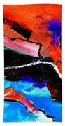 Abstract 69212022 Beach Towel