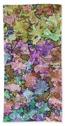 Abstract Colors Pale Beach Towel