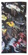 Abstract Fish212 Beach Towel