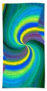 Abstract Fusion 108 Beach Towel