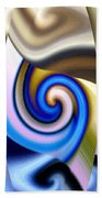 Abstract Fusion 114 Beach Towel by Will Borden