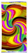 Abstract Fusion 123 Beach Towel